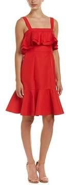 Jill Stuart Silk-blend A-line Dress.