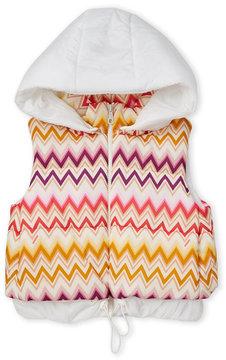 Missoni Girls 4-6x) Zig-Zag Hooded Vest