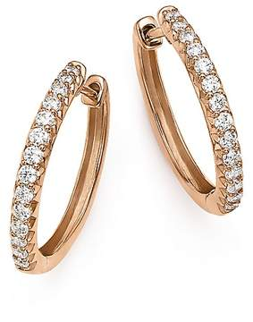 Bloomingdale's Diamond Hoop Earrings in 14K Rose Gold, .40 ct. t.w. - 100% Exclusive