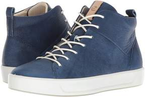 Ecco Soft 8 High Top Women's Lace up casual Shoes