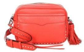 Rebecca Minkoff Bryn Studded Leather Camera Bag - FIRE ENGINE - STYLE