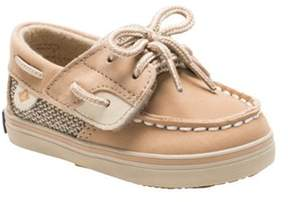 Sperry Infant Girls' Bluefish Crib Junior Boat Shoe.