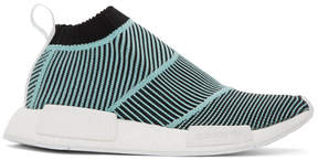 adidas Black and Blue NMD CS1 Parley PK Sneakers