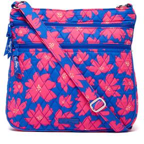 Vera Bradley Art Poppies Triple-Zip Hipster Crossbody Bag - ART - STYLE