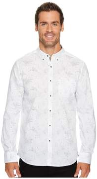 Kenneth Cole Sportswear Stars Print Shirt Men's Clothing