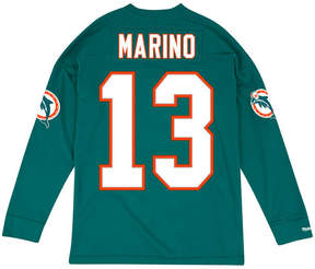 Mitchell & Ness Men's Dan Marino Miami Dolphins Retro Player Name & Numer Longsleeve T-Shirt