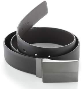 Apt. 9 Reversible Plaque Leather Belt