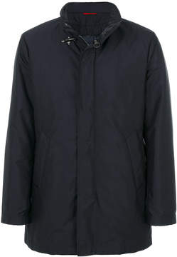 Fay concealed fastening lightweight jacket