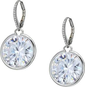 Betsey Johnson Blue by Large Cubic Zirconia Stone Drop with Accents and Details Earrings Earring