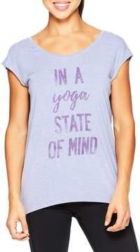 Gaiam Women's Dani Yoge State of Mind Tee