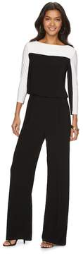 Chaps Women's Colorblock Jumpsuit