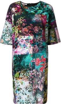 A.F.Vandevorst floral graphic printed dress
