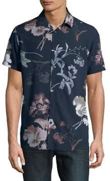 Selected Sun Cotton Button-Down Shirt