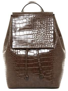 French Connection Alana Croc Embossed Backpack