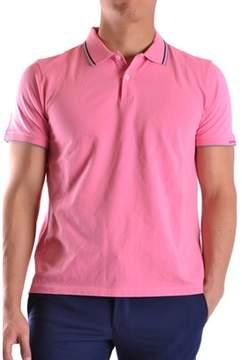 Peuterey Men's Pink Cotton Polo Shirt.