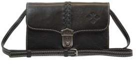 Patricia Nash Bianco Braided Leather Crossbody Bag