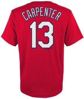 Majestic Boys 4-18 St. Louis Cardinals Matt Carpenter Player Name and Number Tee