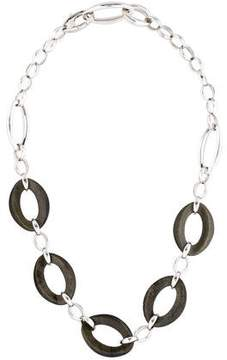 Chimento Obsidian Legami Di Cuore Oval Link Necklace w/ Tags
