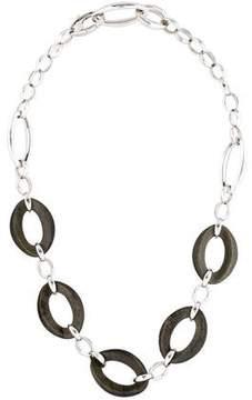 Chimento Obsidian Legami Di Cuore Oval Link Necklace w/ Tags