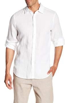 Perry Ellis Linen Regular Fit Shirt
