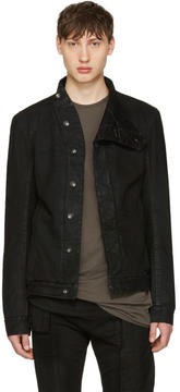 Rick Owens Black Denim Slave Jacket