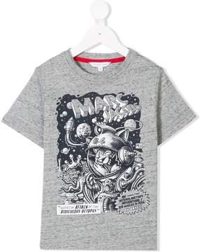 Little Marc Jacobs space print T-shirt