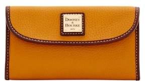 Dooney & Bourke Portofino Continental Clutch Wallet - MUSTARD - STYLE