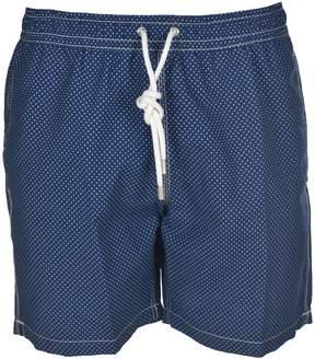 Hartford Small Dotted Swim Shorts