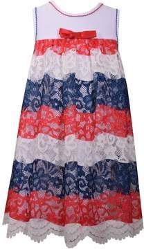 Bonnie Jean Girls 7-16 Americana Lace Dress