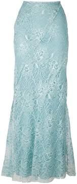Alberta Ferretti embroidered skirt