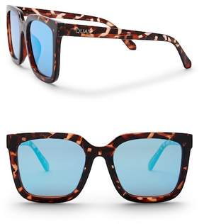 Quay Women's Genesis 55mm Retro Sunglasses
