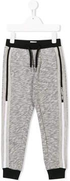 Karl Lagerfeld contrasting stripe jogging trousers