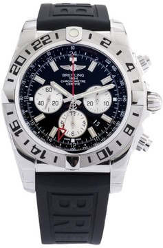 Breitling Chronomat GMT AB413B9/BD17 Stainless Steel Mens Watch