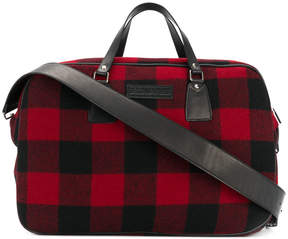 DSQUARED2 x Only The Brave Foundation checked tote