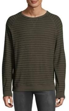 Hyden Yoo Hacci Stripe Sweatshirt
