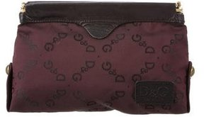 Dolce & Gabbana Leather-Trimmed Cosmetic Bag