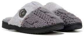 Dearfoams Women's Cable Knit Scuff Slipper