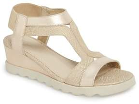 The Flexx Give A Hoot Wedge Sandal