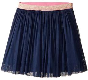 Toobydoo Navy Tulle Party Skirt (Toddler/Little Kids/Big Kids)