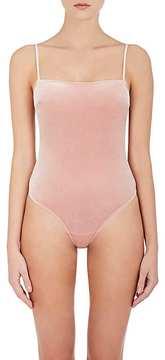 Fleur Du Mal Women's Velvet Bodysuit