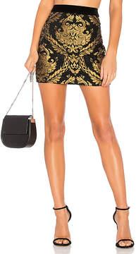 Endless Rose Brocade Mini Skirt