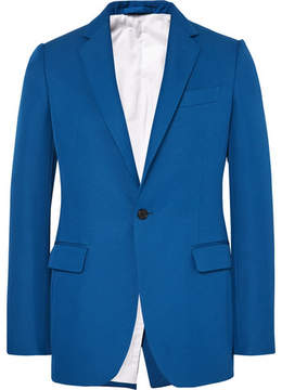 Calvin Klein Cobalt Slim-Fit Twill Blazer