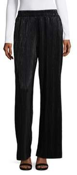 Context Pleated Wide-Leg Pants