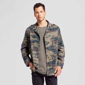 Jackson Men's Camo Military Jacket Olive