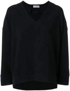 Alberto Biani v-neck blouse