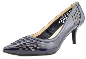 J. Renee Halinatoo Women Pointed Toe Synthetic Blue Heels.