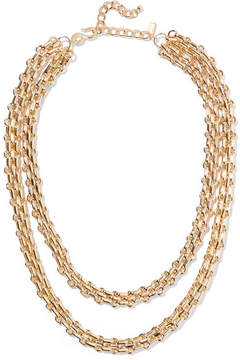 Kenneth Jay Lane Gold-plated Necklace