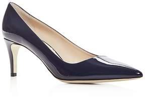 Giorgio Armani Women's Patent Leather Pointed Toe Pumps