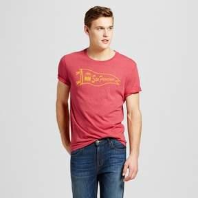 Awake Men's San Francisco Pennant T-Shirt - Red