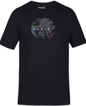 Hurley Men's Palm Drama Logo-Print T-Shirt
